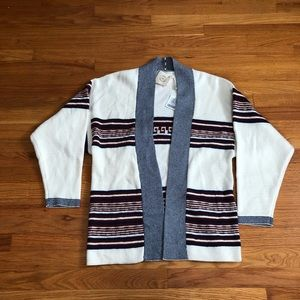 UO Kassi Striped Cardigan